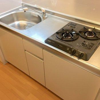 調理スペースがあるので、自炊派の方は嬉しいですね。