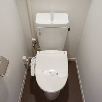 トイレは新品に◎※写真は201号室