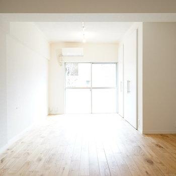 14帖の広々ワンルームに!※写真は201号室