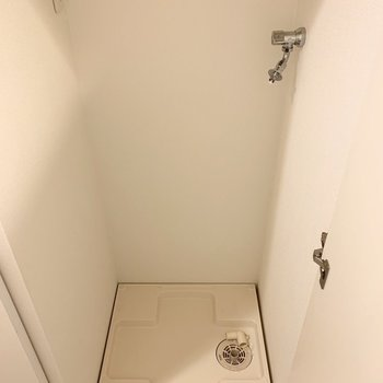 扉で隠せるのがいいですね。(※写真は同間取り別部屋のものです)