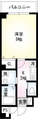 LEO弐拾六番館 の間取り