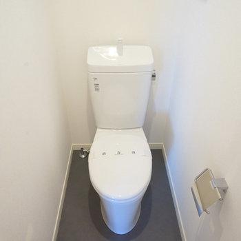 トイレも個室です!※写真は前回募集時のものです