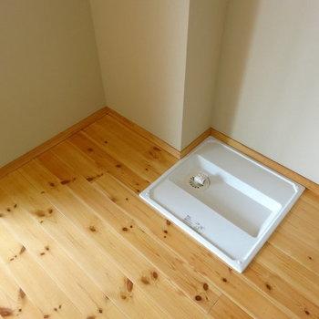 洗濯機と冷蔵庫は隣り合わせかな※写真は別部屋のお写真です