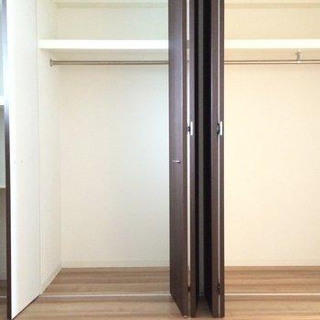 こちらは洋室にある収納※写真は4階の似た間取りの別部屋のものです