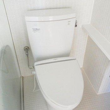 お手洗いはスマート ※写真は別部屋