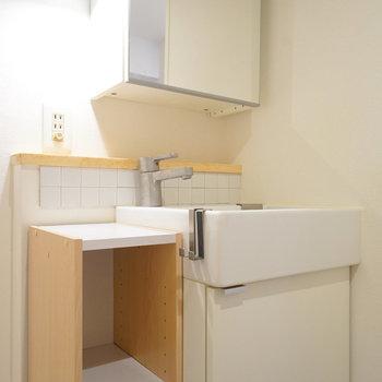 洗面台も可愛いデザイン◎※前回募集時のものになります