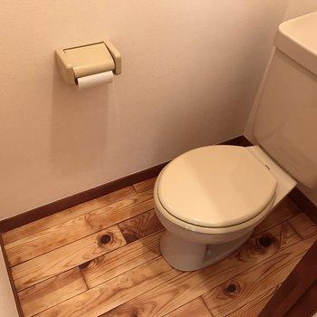 トイレもあります!
