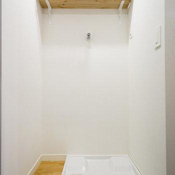 洗濯パンも交換しました◎※写真は同じ間取りの別部屋