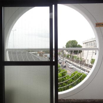 窓を覗くと不思議な気持ちになりますね※写真は前回募集時のものです