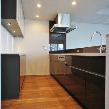 キッチンもこの広さ。