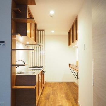 雰囲気のあるキッチン♪※写真は前回募集時のものです