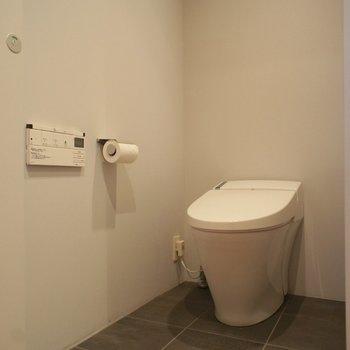 トイレも最新型ので