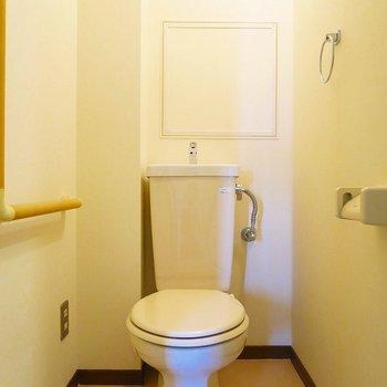 トイレも十分現役!※写真は前回掲載時のものです。