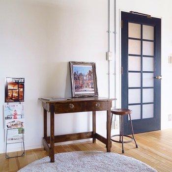 この家具、ここのお部屋を作った大工さんの手作り!※写真は前回掲載時のものです。