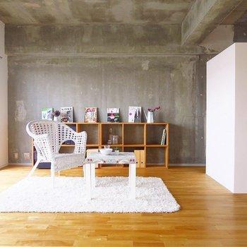 ゆったりめの家具を置きたいですね。※写真は前回掲載時のものです。