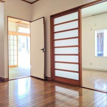 【LDK】ふたつのお部屋を繋ぐリビング
