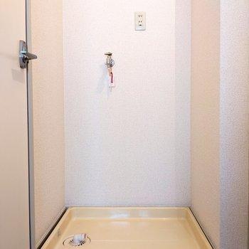 脱衣所に洗濯機置き場