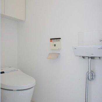 トイレは個室!うれしいポイント