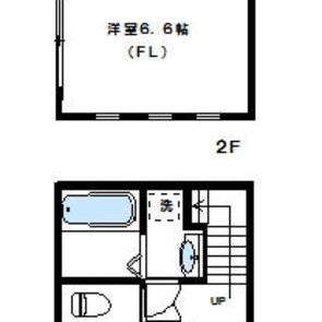 メゾネットタイプが嬉しい。2つの階を独り占め。