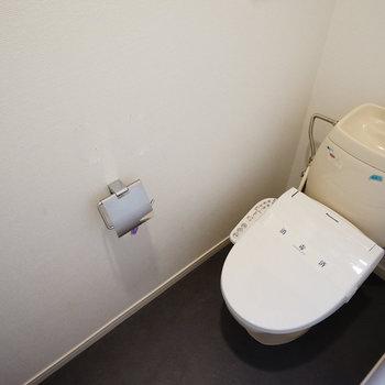 トイレは小物を交換、ウォシュレットも新設して◎