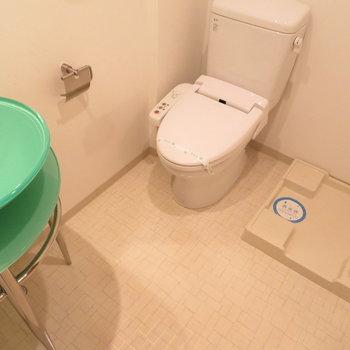 水回りはぎゅっと凝縮※写真は8階の同間取り別部屋のものです