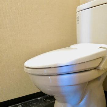 独立トイレで清潔