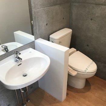 トイレは一緒のスペース※写真は前回募集時のものです