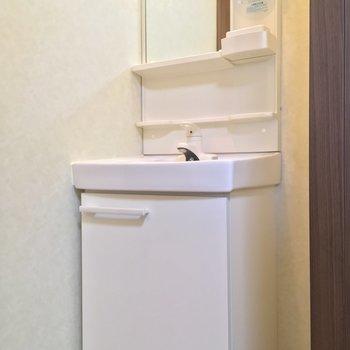 洗面台も独立型※ 写真は前回募集時のものです
