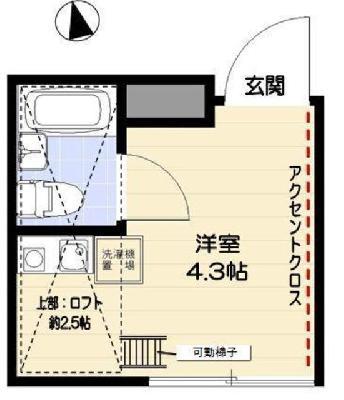 R-STYLE竹ノ塚2nd の間取り