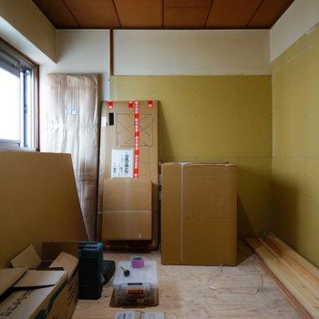 こちらも寝室※写真は工事中です
