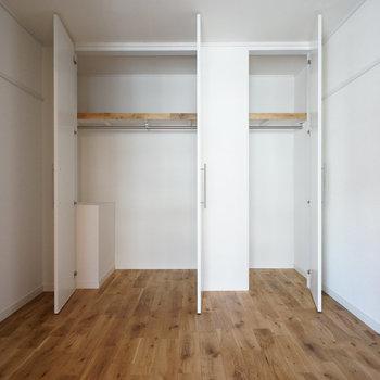 収納は真ん中の洋室に※写真はイメージです