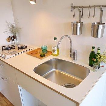 キッチンも新しく設置! ※写真はイメージです