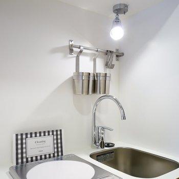 可愛いTOMOSオリジナルキッチン※写真は前回施工の402号室