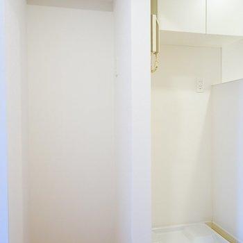 冷蔵庫置き場を新設!※写真は前回施工の402号室