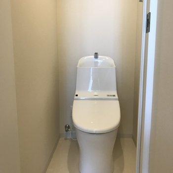 もちろんトイレも綺麗です。※写真は前回募集時のものです