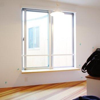 明るいお部屋なんです!