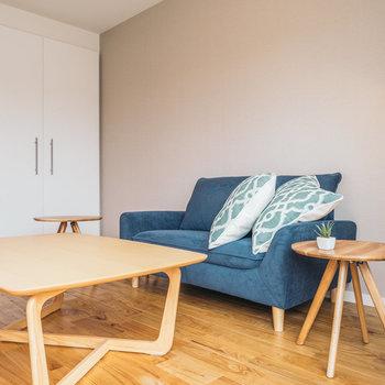 家具のテイストはナチュラルにも白に統一しても◎※写真はイメージ