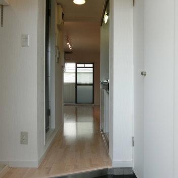 玄関からの眺め ※写真は別部屋です