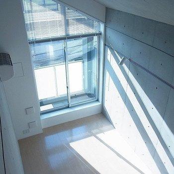 ロフトからの眺めはこんな感じ※写真は別部屋