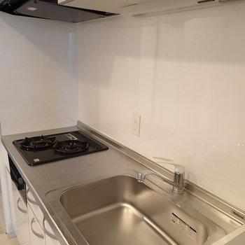 1人暮らしにしてはキッチン広いですね
