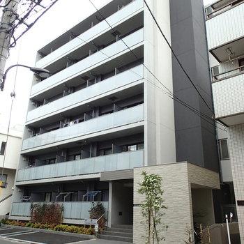 6階建ての新築マンション