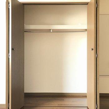 居室の収納はクローゼットタイプ