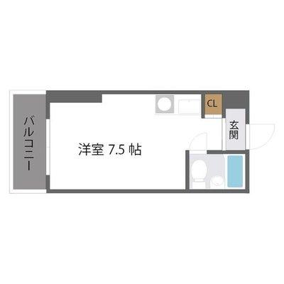 メゾン第五新大阪 の間取り