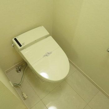 落ち着くトイレです