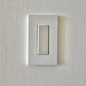 スイッチなど細かいところにもこだわりが行き届いています。