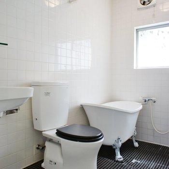 このバスルームにきゅん。※写真は別部屋です