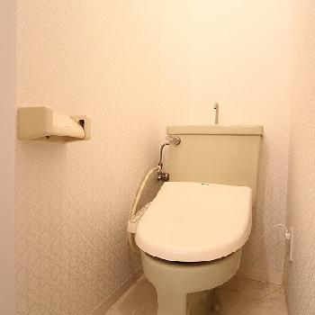 トイレ!※写真は前回募集時、クリーニング中のものです。