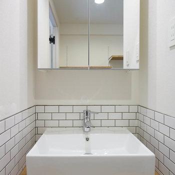 【イメージ】洗面台もTOMOSオリジナル◎