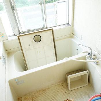 お風呂が楽しみ~!!※写真は工事中です