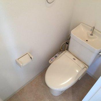 トイレはWC付き(※写真は別部屋)